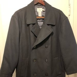 Calvin Klein Double Breast Overcoat/Pea Coat Sz XL